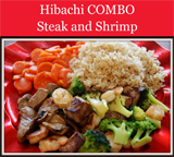 Hibachi COMBO - Steak and Shrimp